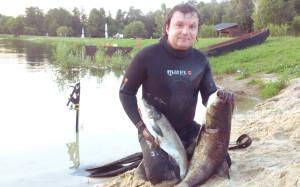 подводная рыбалка